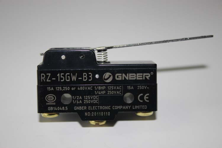 RZ-15GW-B3 15A 250VAC drive type micro switch