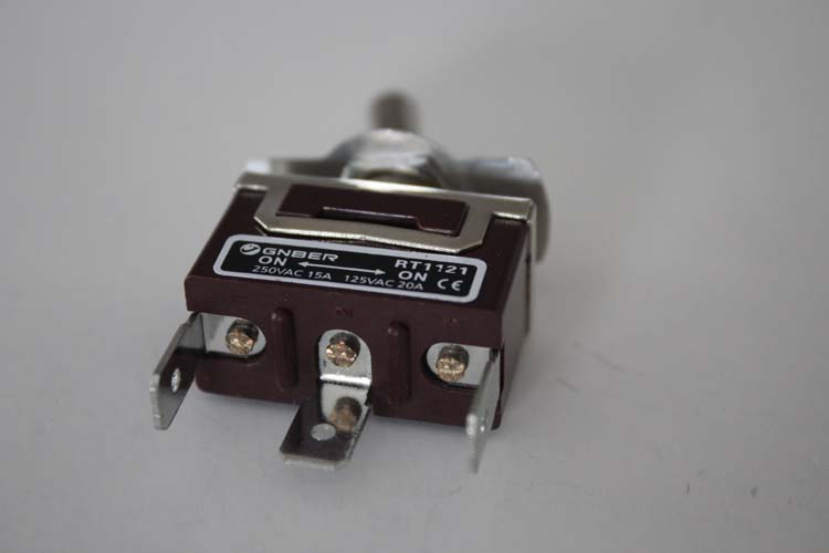 RT1121-C 1P on-on #6.3 terminal type miniature toggle switch