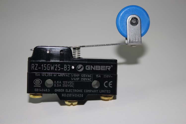 RZ-15GW25-B3 20 big roller lever type micro switch