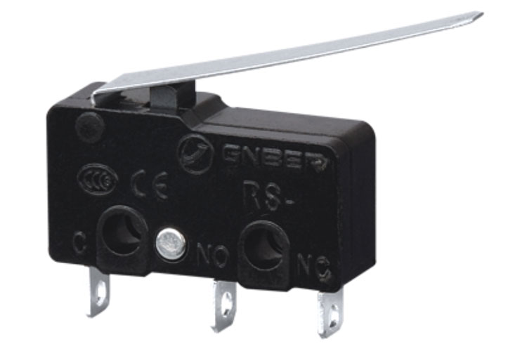 RS-5GL12 5A 125VAC long lever type mini micro switch