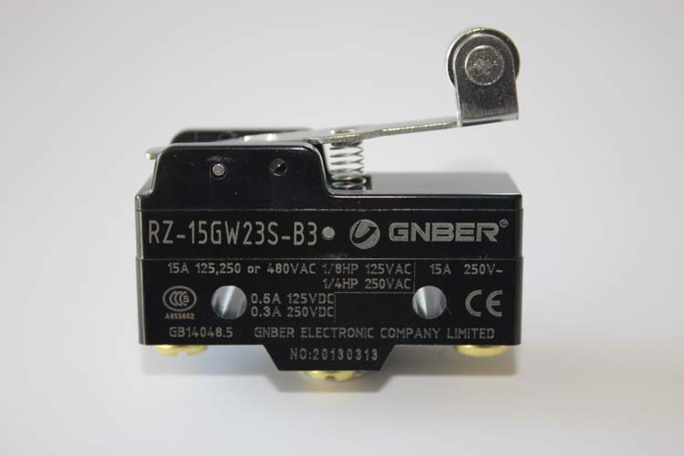 RZ-15GW23S-B3 copper roller 38.5mm lever type micro switch