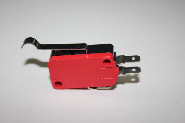 Curved lever type 16A micro switch RV-164-1C25