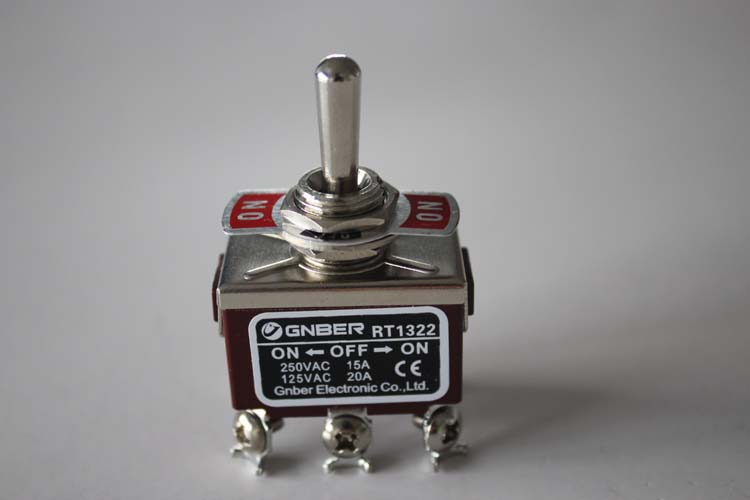 RT1322 2P on-on miniature toggle switch