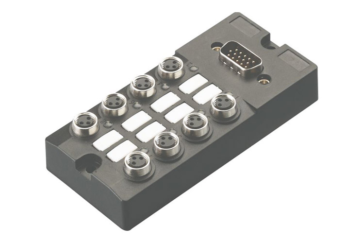M8 connector D plug type junction box